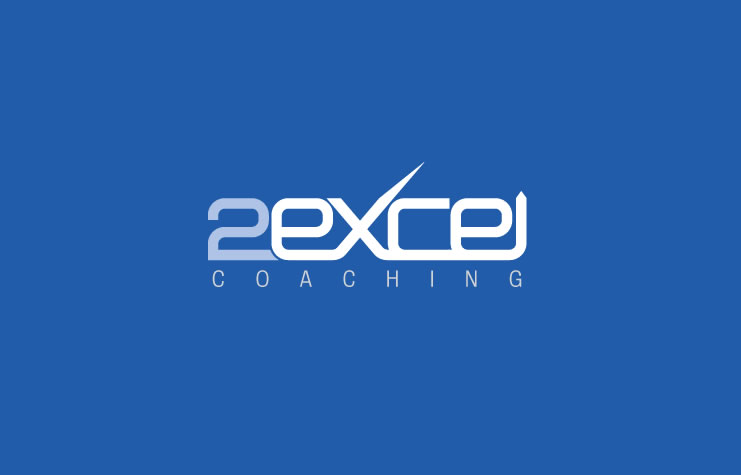 Logo and identity design for 2Excel Coaching
