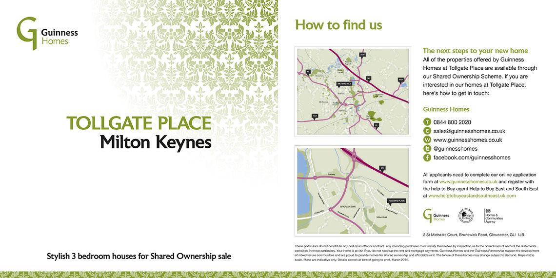Brochure design - Tollgate place