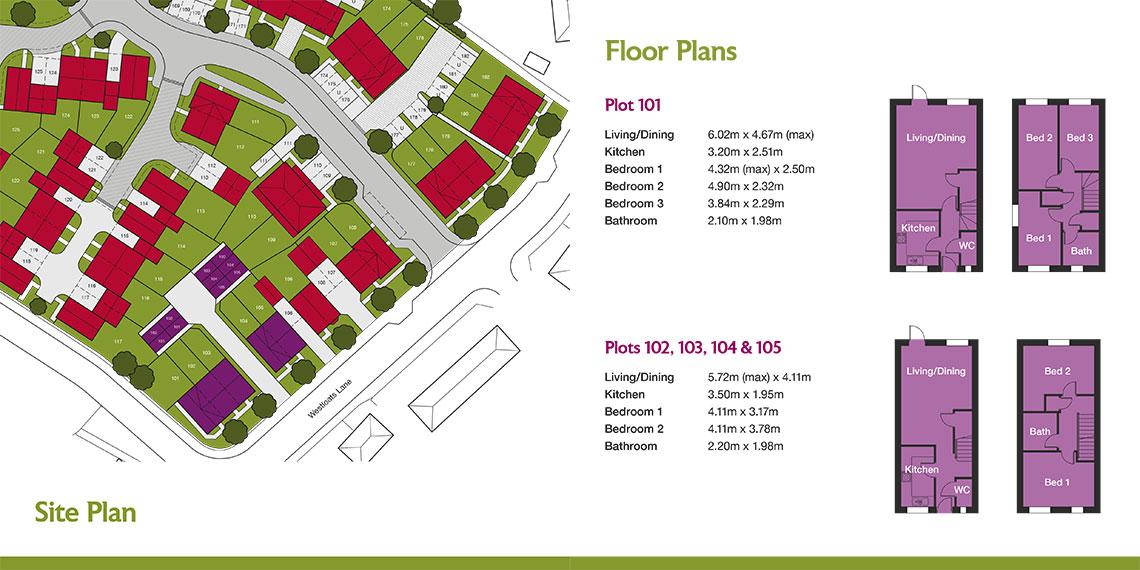 Floor plan illustrations