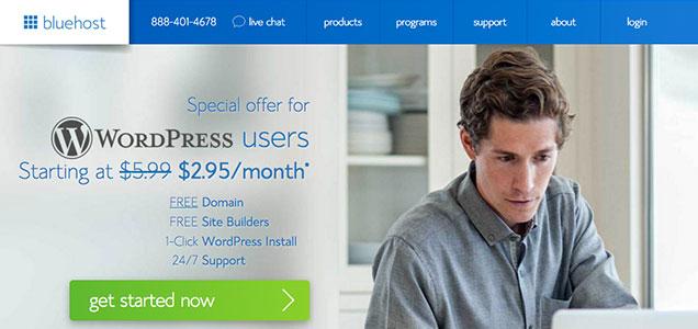 Bluehost - WordPress website hosting
