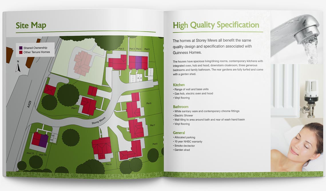 Brochure Design for Storey Page 4-5