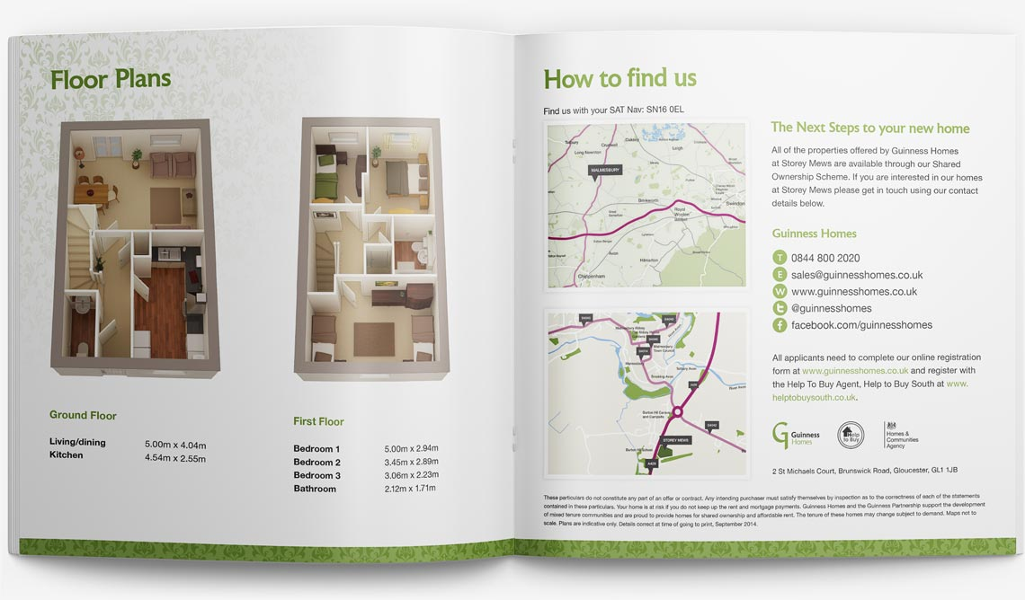 Brochure Design for Storey Page 6-7