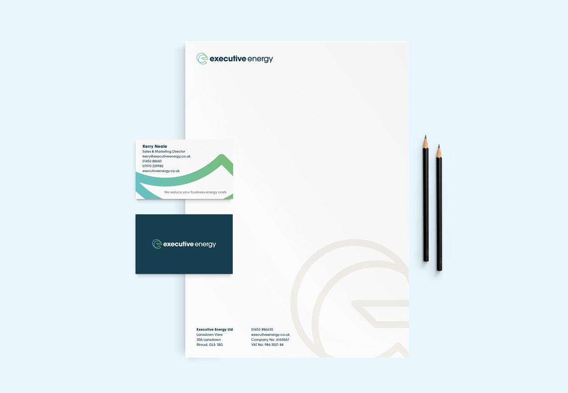 Executive Energy corporate identity