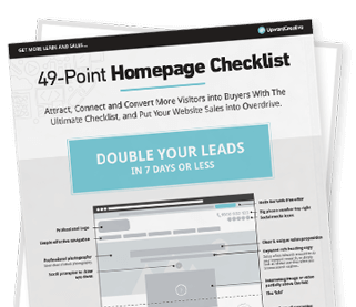 Website Homepage Checklist