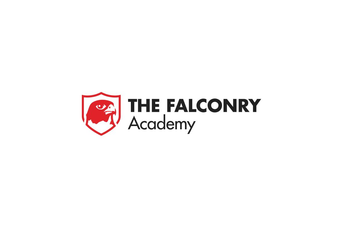 John Dowling Falconry Academy logo design