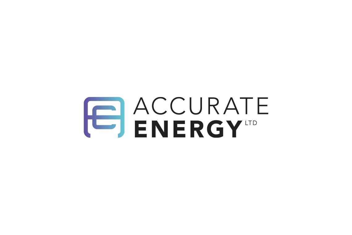 Accurate Energy logo design